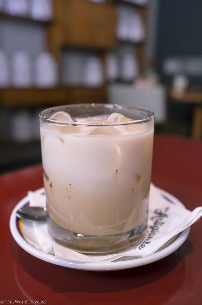 The chai latte at Ditta Artigianale is so delicious. Definitely worth a visit if you are in Florence!