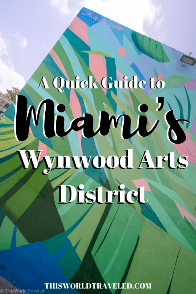 A quick guide to Miami's Wynwood Arts District. Everywhere you need to see, eat and shop in this vibrant neighborhood!