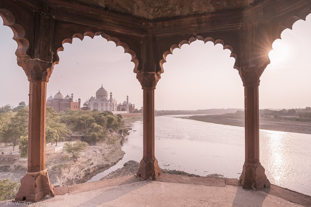 The Secret Sunset Spot to see the Taj Mahal
