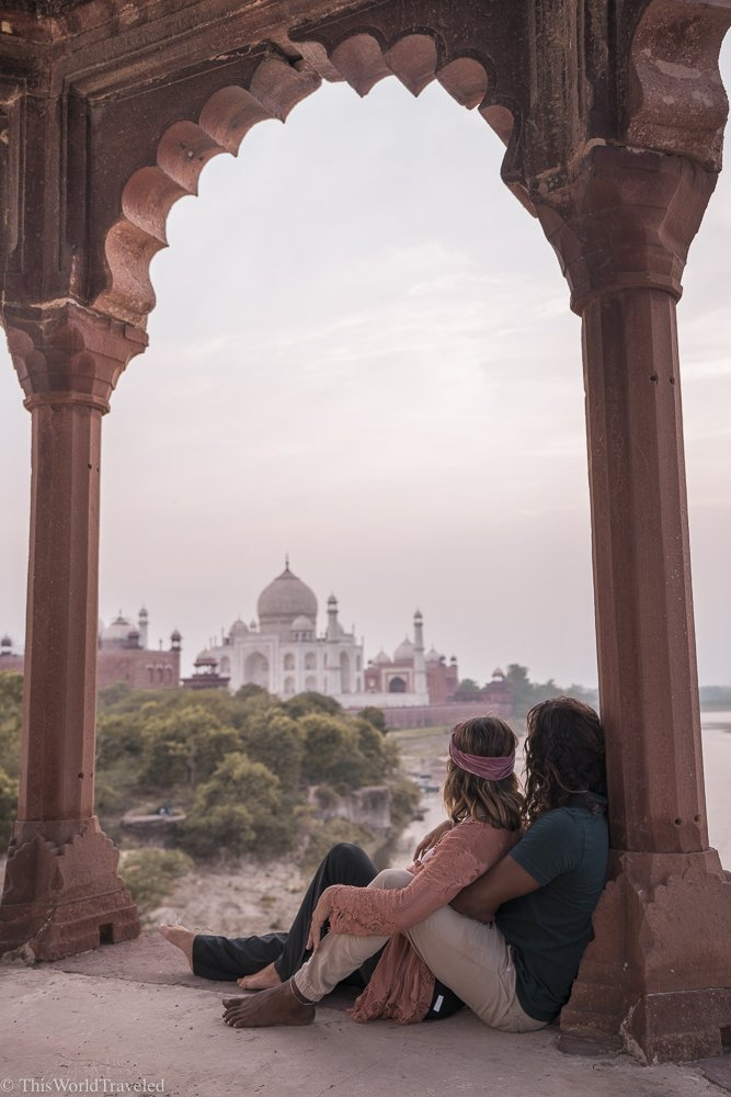 How to Find the Secret Sunset Spot to View the Taj Mahal