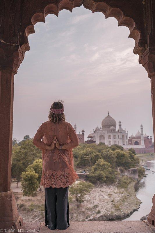 The Secret Sunset Spot to see the Taj Mahal