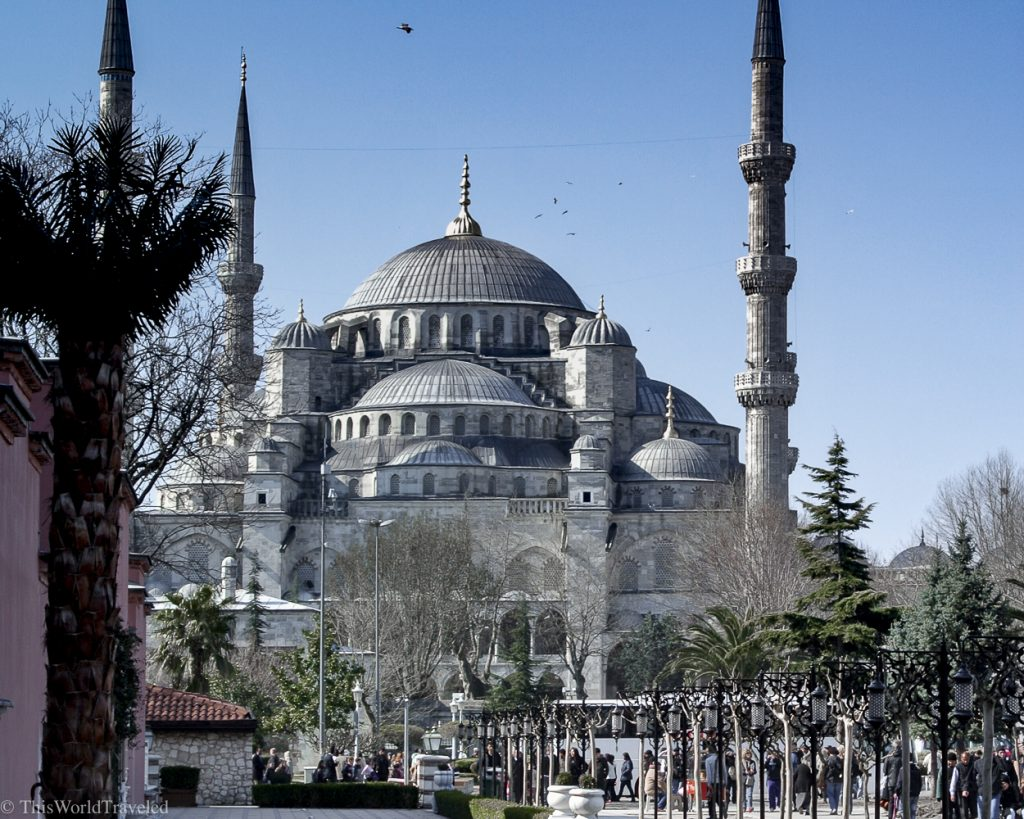 The Blue Mosque is one of the top things to see in Istanbul!