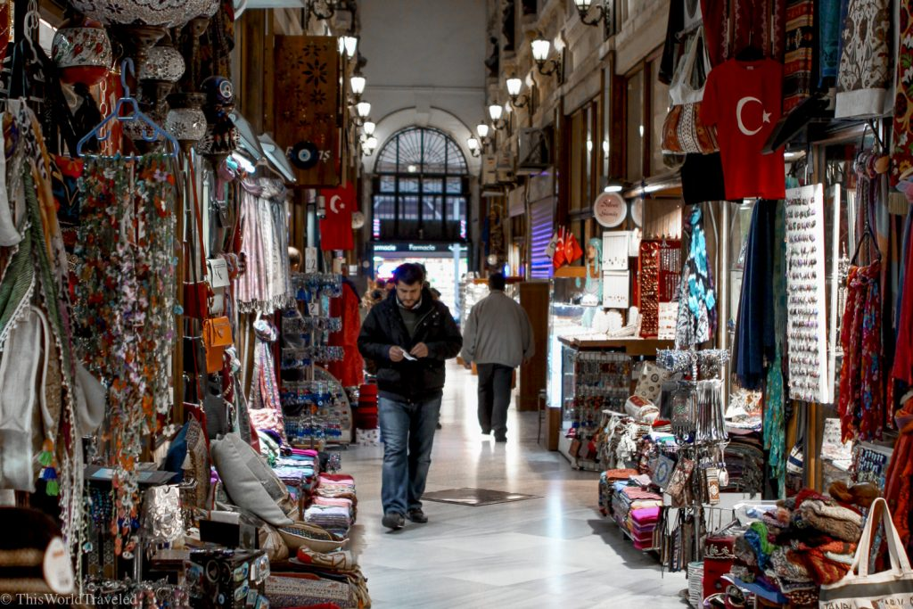 Inside the Grand Bazaar is a feast for the eyes.