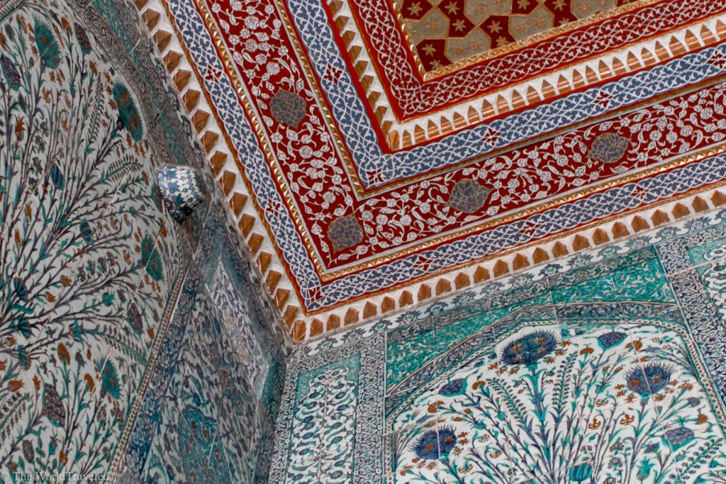 The intricate details of the Topkapi Palace must be seen on a visit to Istanbul