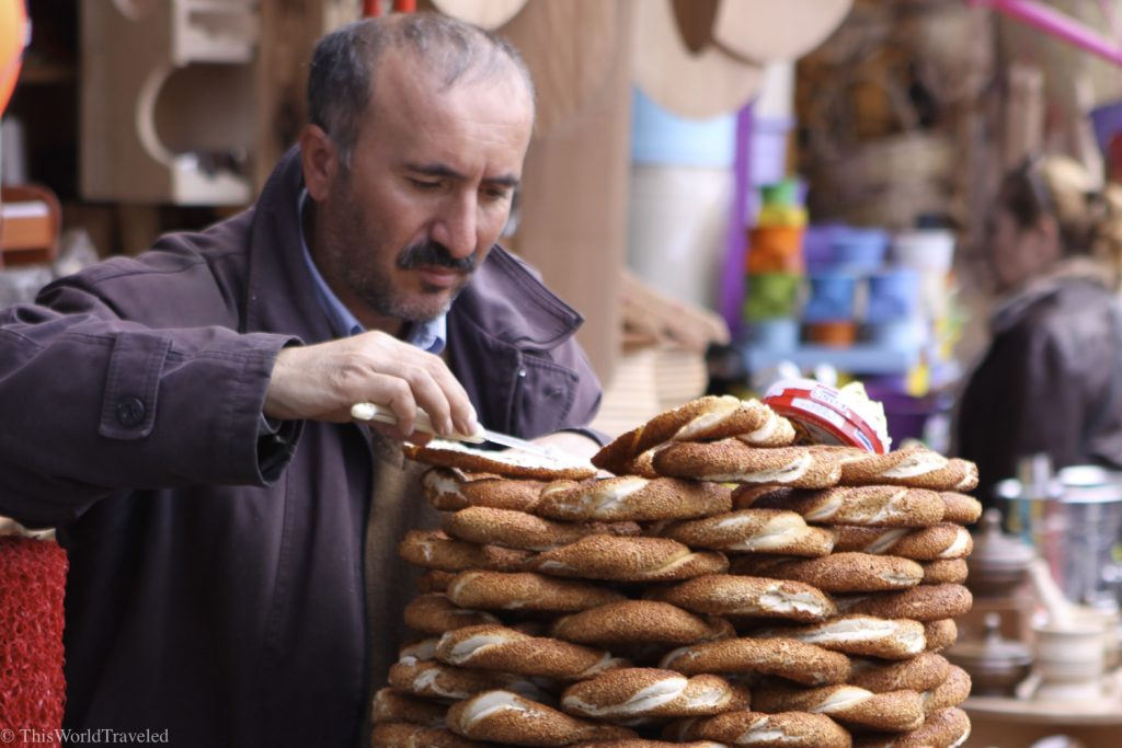 The food street vendors in Istanbul have some of the best food