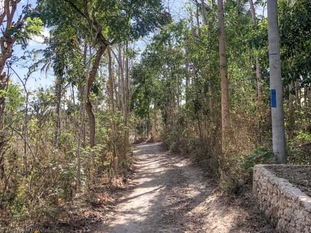The roads on Nusa Penida Island are not always the easiest to drive on