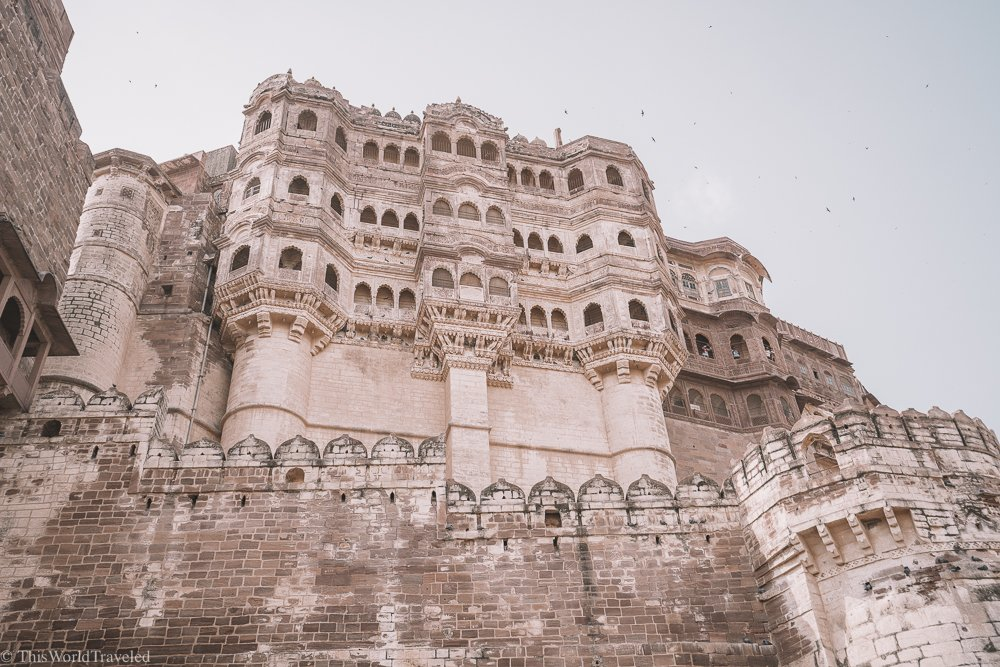 View of Mehrangarh Fort in Jodhpur, India