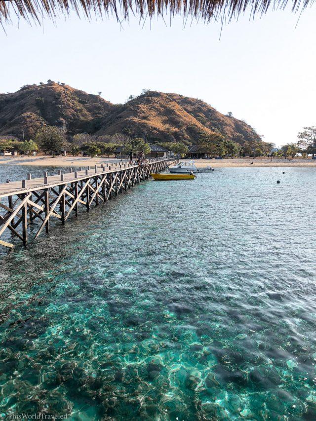 View of Kanawa Island as you enter through the dock