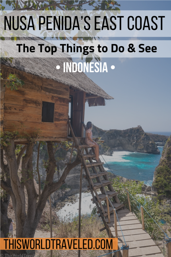 The top things to do and see on Nusa Penida's East Coast