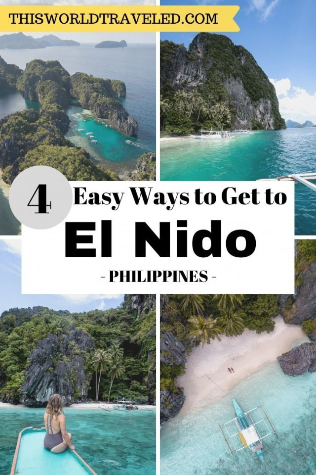 4 Easy Ways to Get to El Nido in the Philippines