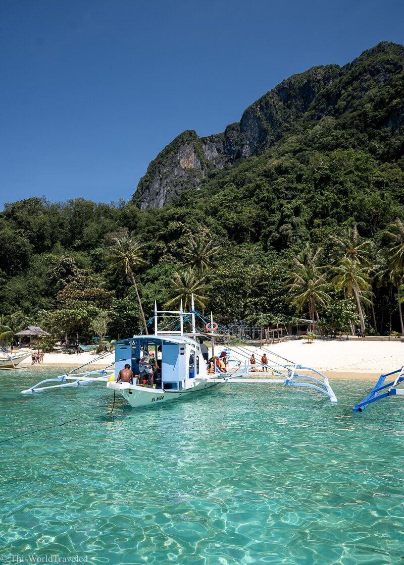 7 Commandos Beach in El Nido the Philippines