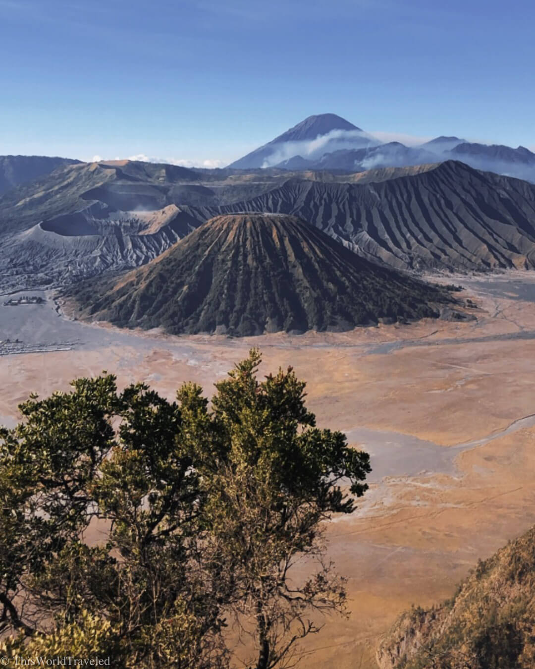 View of Mount Bromo at Sunrise