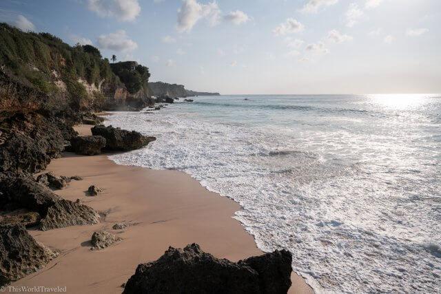 Pantai Tegal Wangi in Uluwatu, Bali