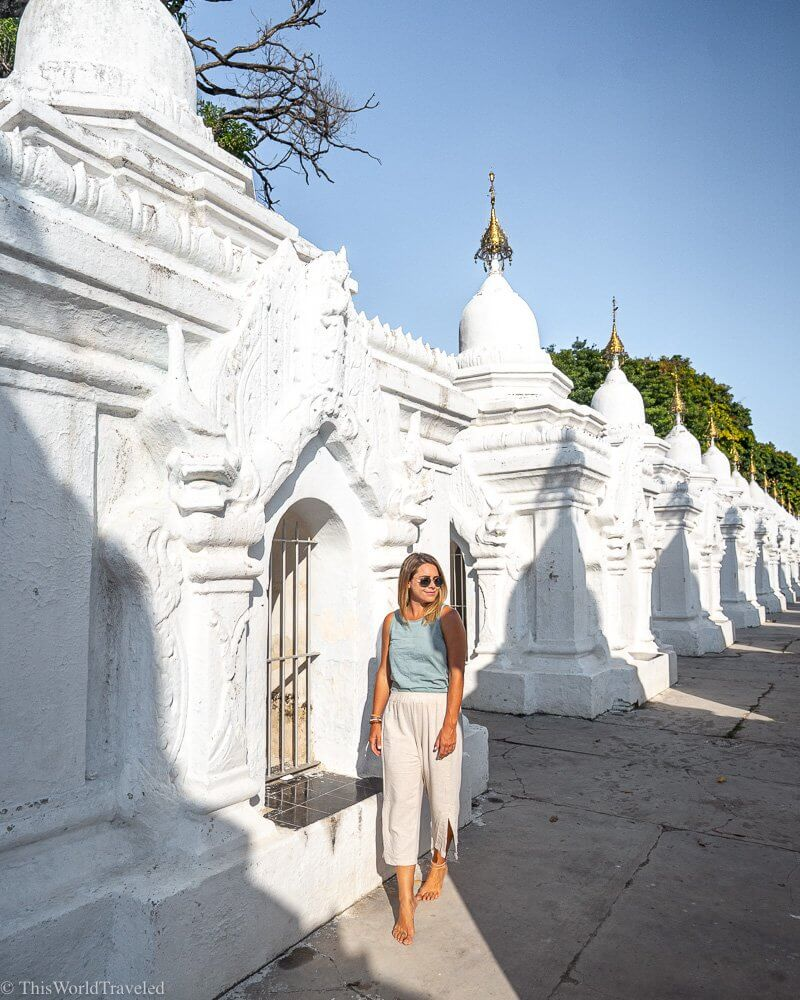 The Kuthodaw Pagoda is the largest book in the world and can be found in Mandalay, Myanmar