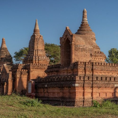 Some of the over 2,000 temples found in Bagan, Myanmar