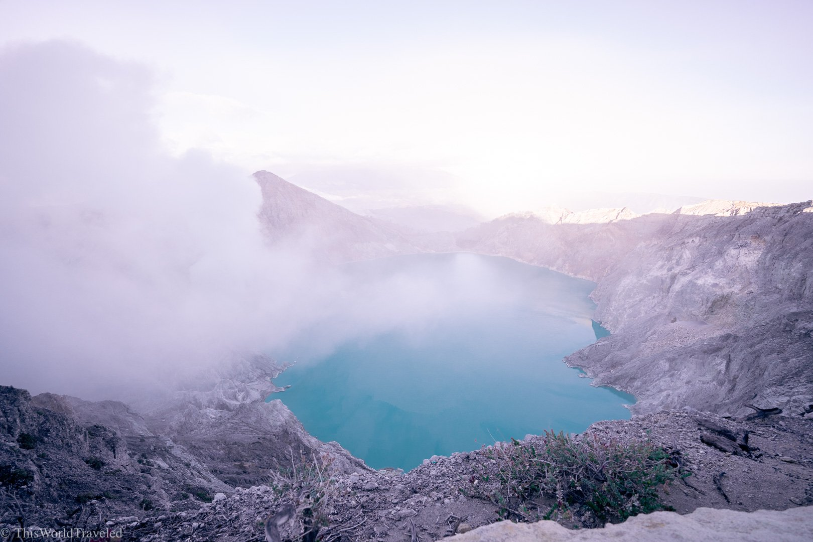 The Ijen Crater in Java: How to Visit Kawah Ijen Without a Tour