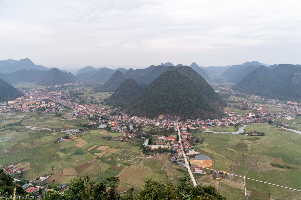 Bac Son Valley in rural Vietnam