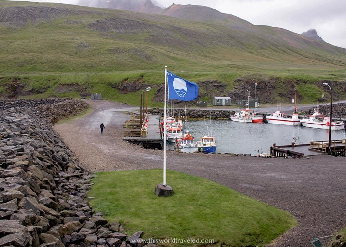 Route 94 in East Iceland takes you to the puffin marina in the region of Borgarfjörður eystri where you can see puffins