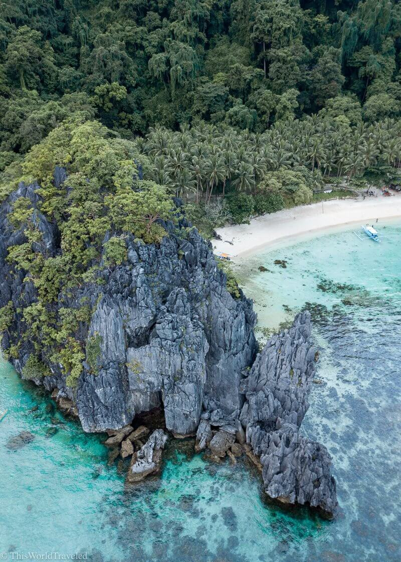 Hidden Beach can be visited on Tour C in El Nido Palawan