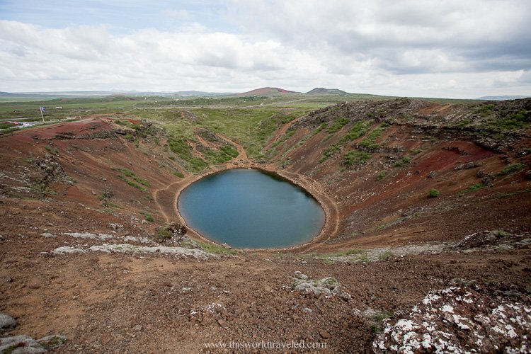 The Kerid Crater on Iceland's Golden Circle