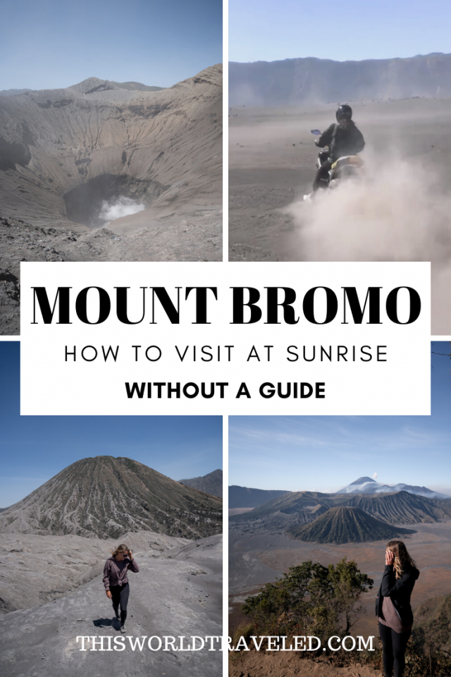 Mount Bromo: How to Visit at Sunrise Without a Guide
