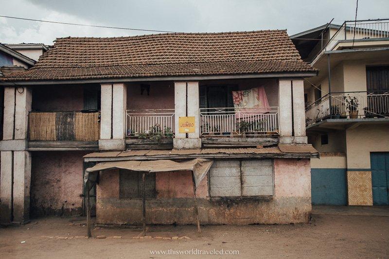 A village in Madagascar