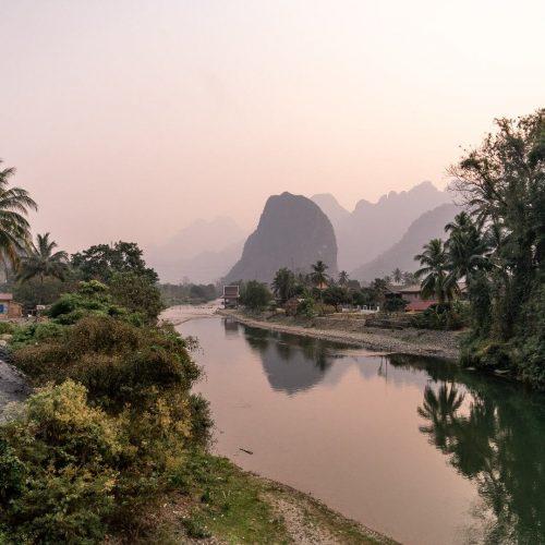 Pha Tang Village near Vang Vieng, Laos