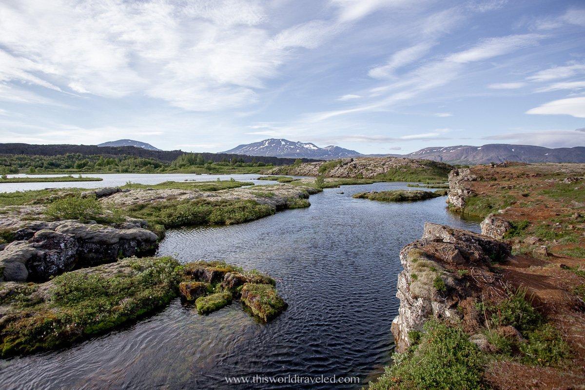 Silfra at Thingvellir National Park in Iceland's Golden Circle