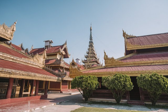 The Mandalay Palace is a top thing to see in Mandalay during your visit to this city in Myanmar