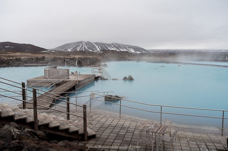 Thermal bath in Iceland