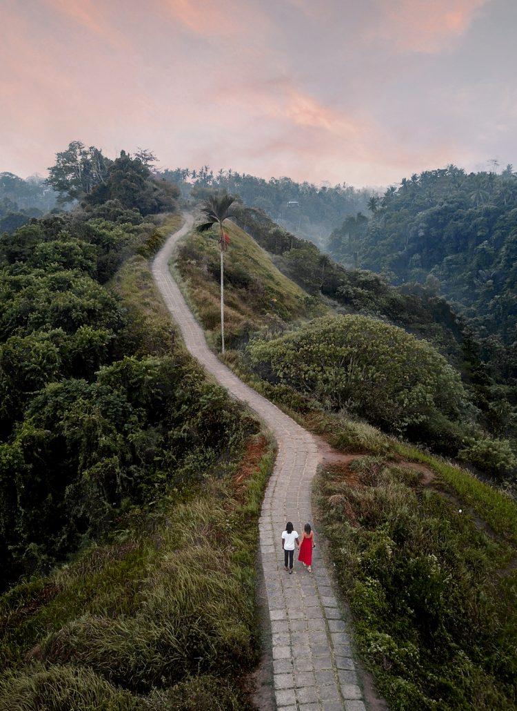 The Camphuan Ridge walk in Ubud, Bali
