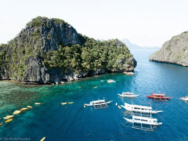 The Big Lagoon on Tour A of an El Nido Island Hopping Tour