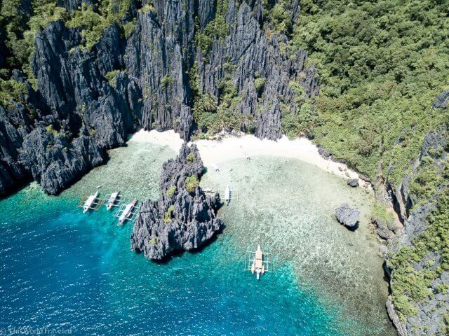 Secret Lagoon on an El Nido Island Hopping Tour in the Philippines
