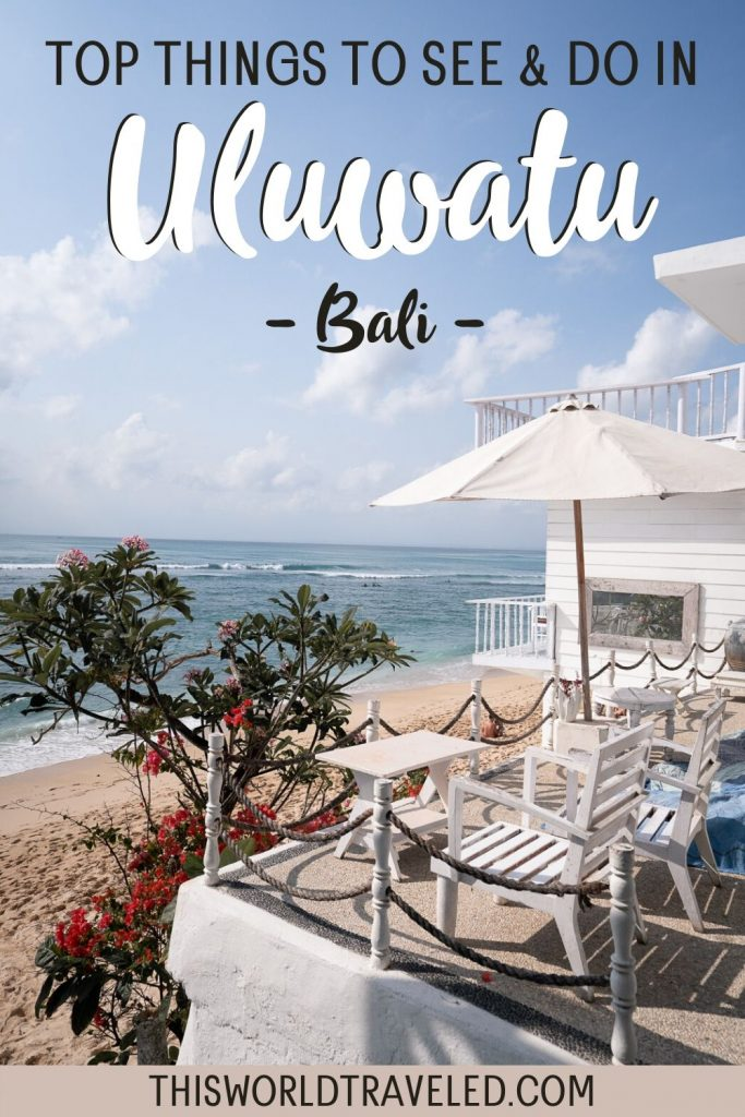 Top things to do in Uluwatu Bali including spending the day on the beach