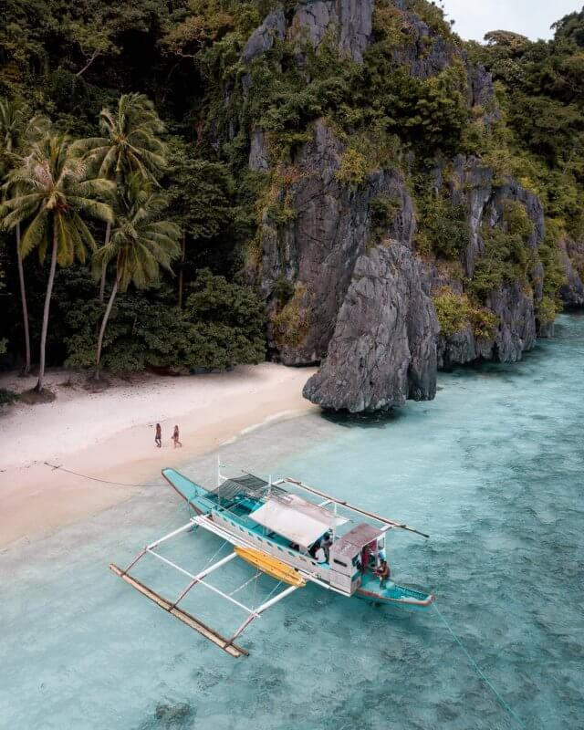 Entalula Island in El Nido, Palawan in the Philippines