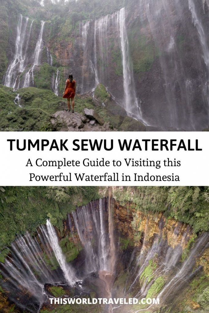 TUMPAK SEWU WATERFALL IN EAST JAVA, INDONESIA