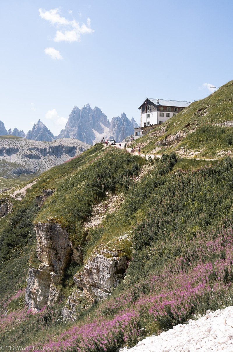 Tre Cime di Lavaredo is a popular hike in the Italian Dolomites. It is easily accessible and perfect for all levels of hikers.