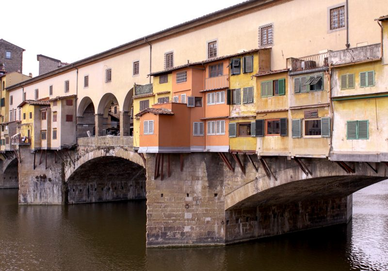 The Ponte Vecchio in Italy's city of Florence