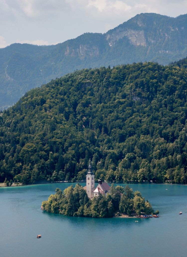 When planning a trip to Europe you might want to go to Lake Bled in Slovenia.