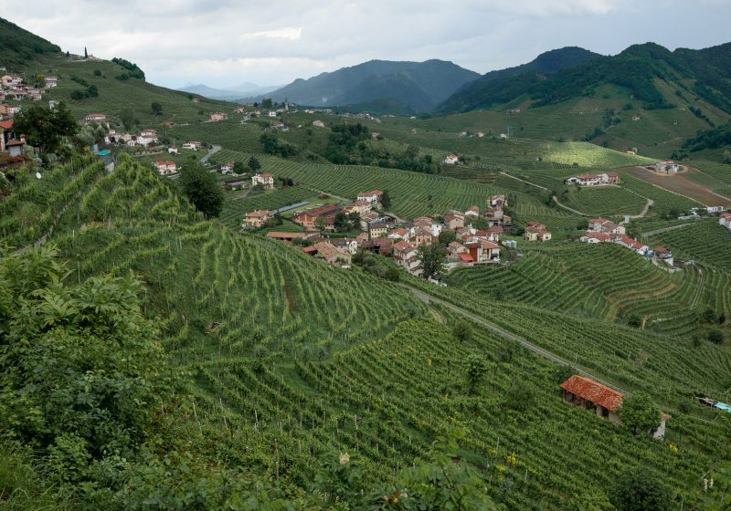Visit Prosecco Road in Northern Italy on a European Vacation.