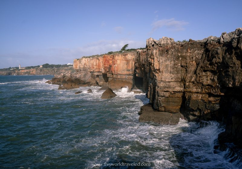 A popular European vacation involves driving along the coast of Portugal