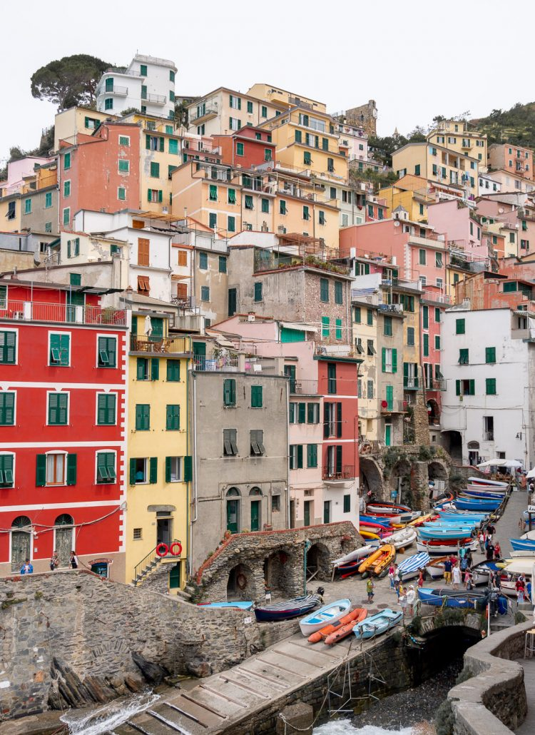 Riomaggiore is one of the 5 lands of Cinque Terre in Italy. When planning a trip to Europe many people come to Italy