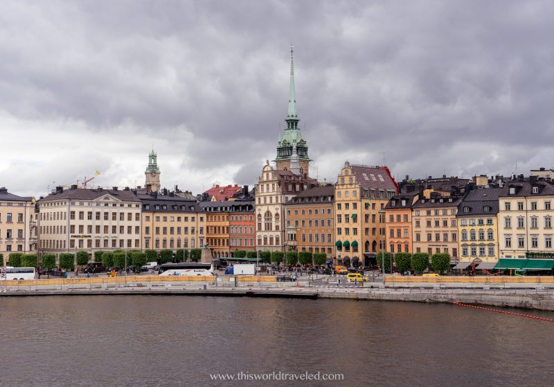View of Stockholm, Sweden from Gamla Stan