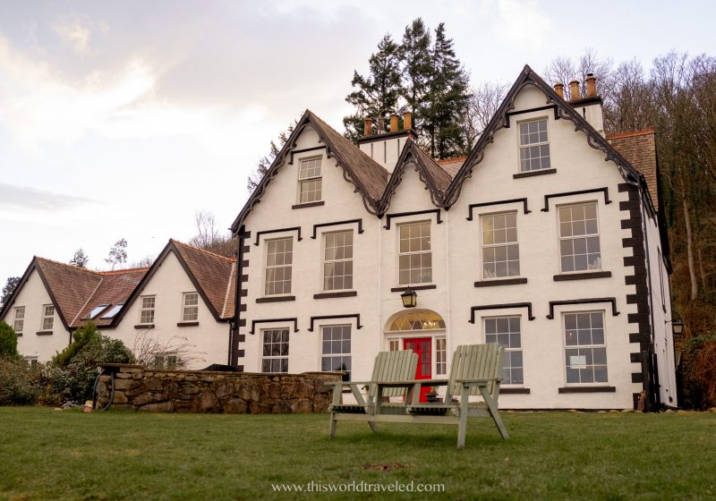 A family run bed and breakfast in Wales
