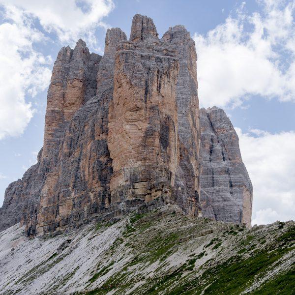 Hiking Tre Cime di Lavaredo in the Italian Dolomites