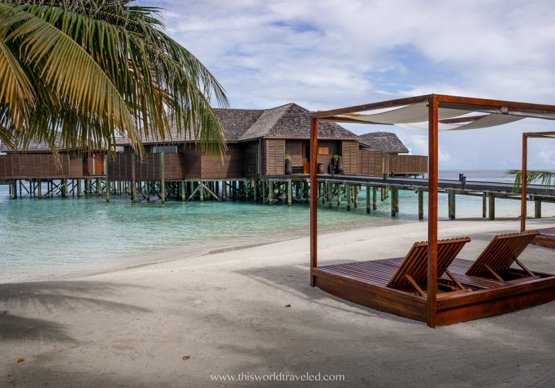 Lily Beach Resort and Spa in the South Ari Atoll in the Maldives
