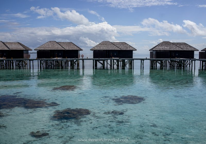 Over the water bungalows are Lily Beach Resort & Spa in the Maldives