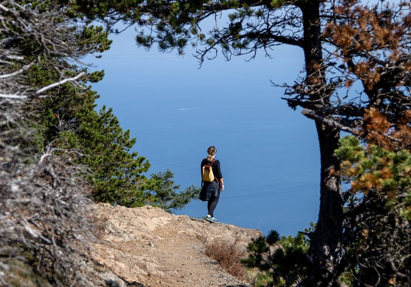Hiking Mount Constitution on Orcas Island in Washington State