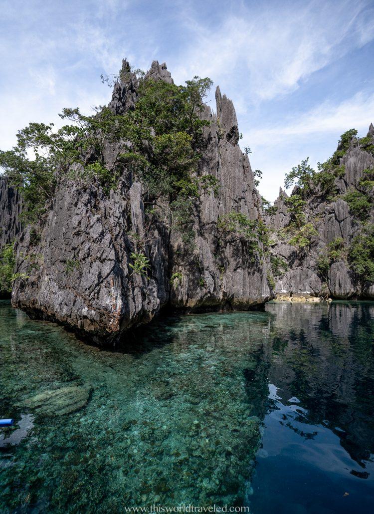 Entrance to the twin lagoon in Coron