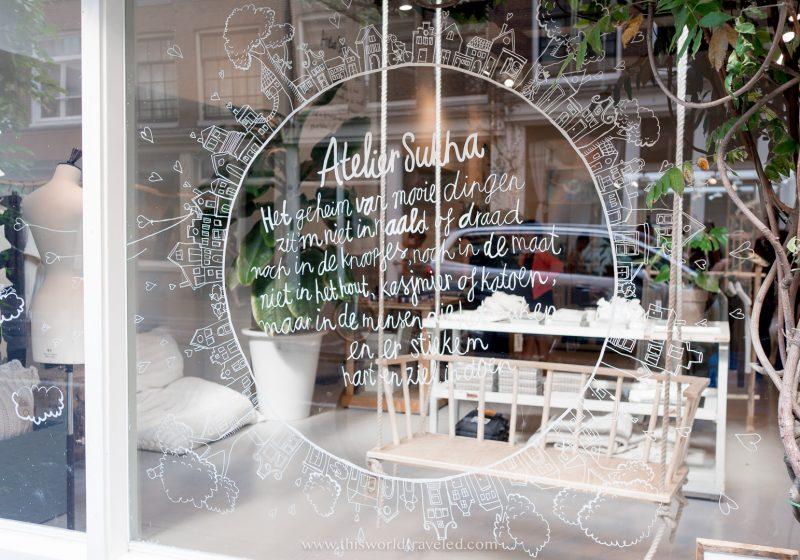 Sukha shop in Amsterdam